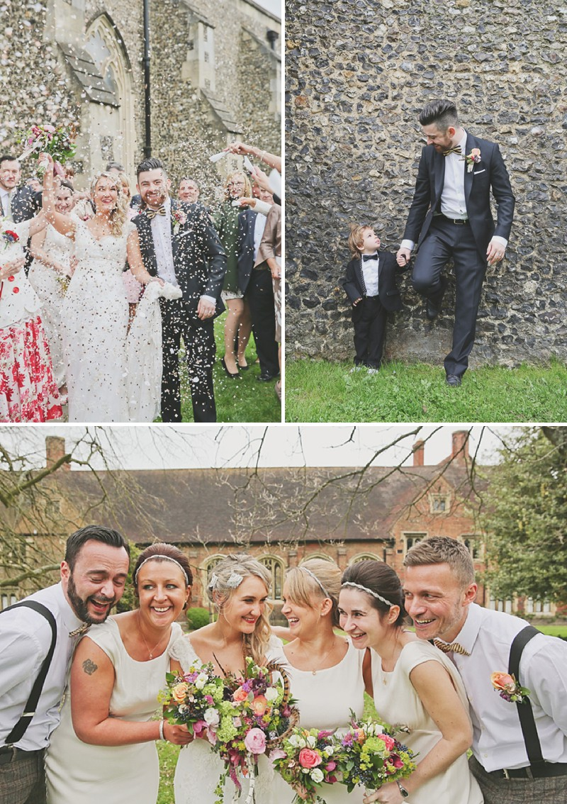 A 1920 vintage wedding at The Gatsby in Berkhamstead with a Lusan Mandongus dress and bridesmaids in ghost_0200