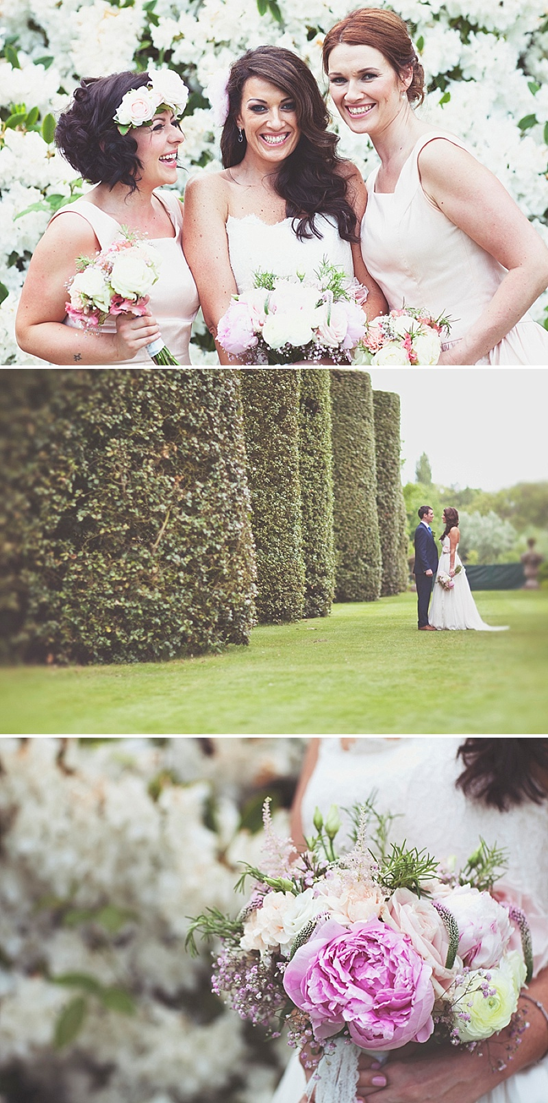 An Elegant Wedding At Arley Hall Gardens With Bride In Dita By Naomi Neoh and Groom In Blue Suit From Next With A Vintage London Bus And Images From On Love And Photography 1