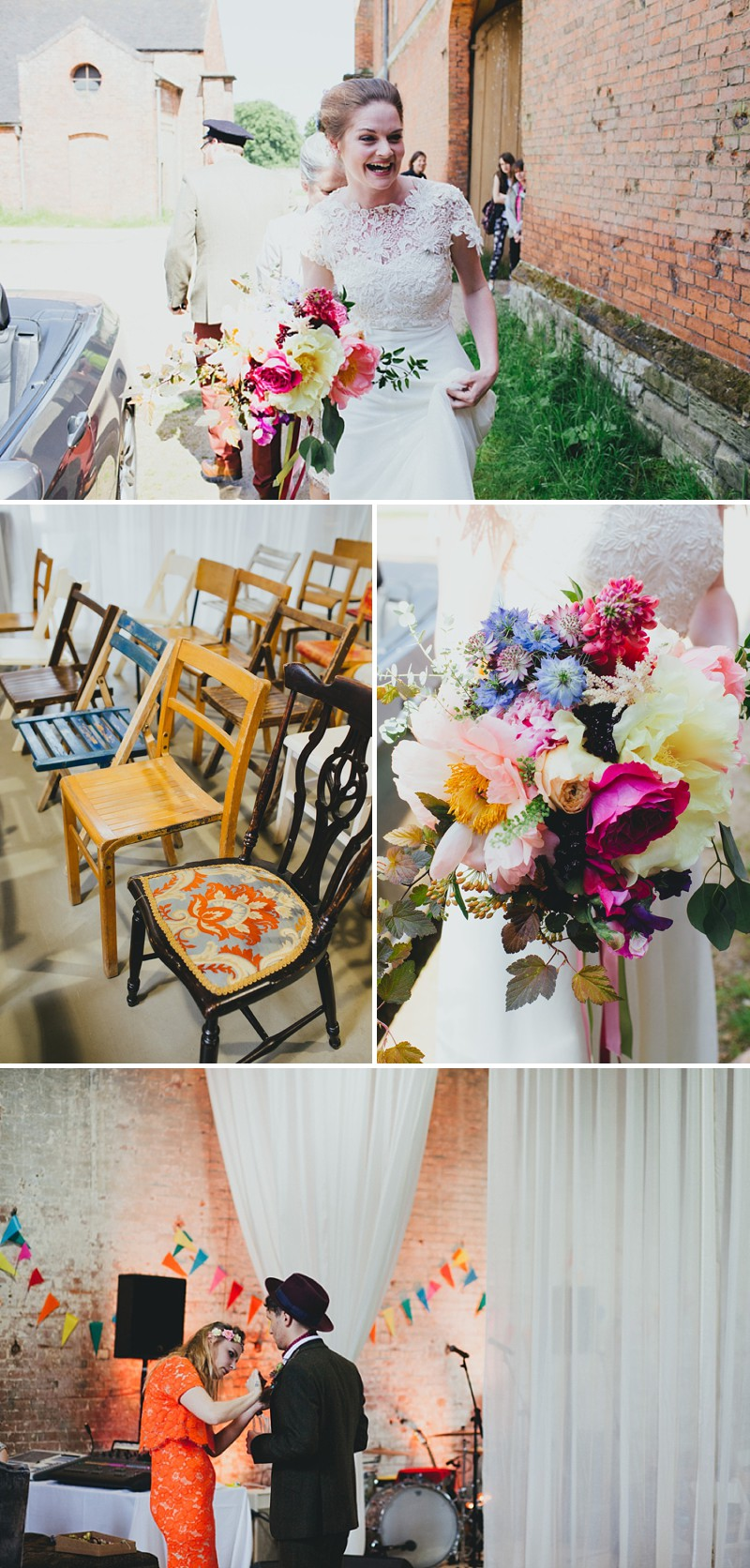 An alternative rock n roll wedding at Calke Abbey in Derbyshire with a bride in a Kula Tsurdiu gown and the most beautiful flowers by Honeysuckle and Castle_0206