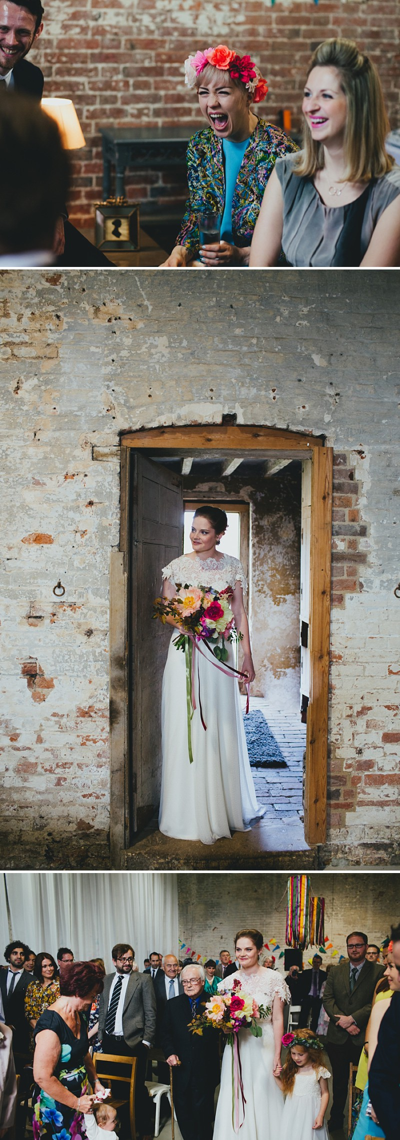An alternative rock n roll wedding at Calke Abbey in Derbyshire with a bride in a Kula Tsurdiu gown and the most beautiful flowers by Honeysuckle and Castle_0207