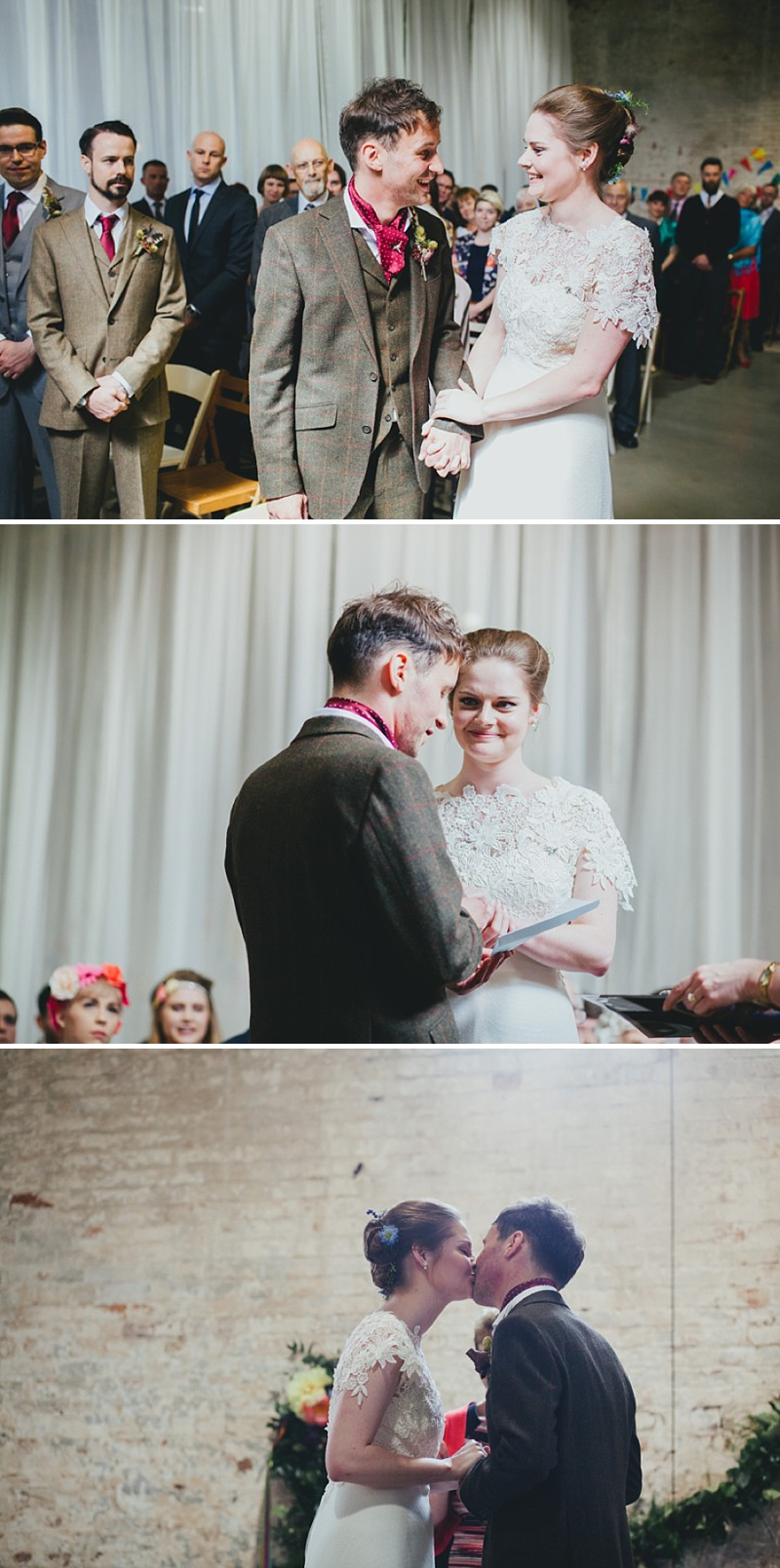An alternative rock n roll wedding at Calke Abbey in Derbyshire with a bride in a Kula Tsurdiu gown and the most beautiful flowers by Honeysuckle and Castle_0208