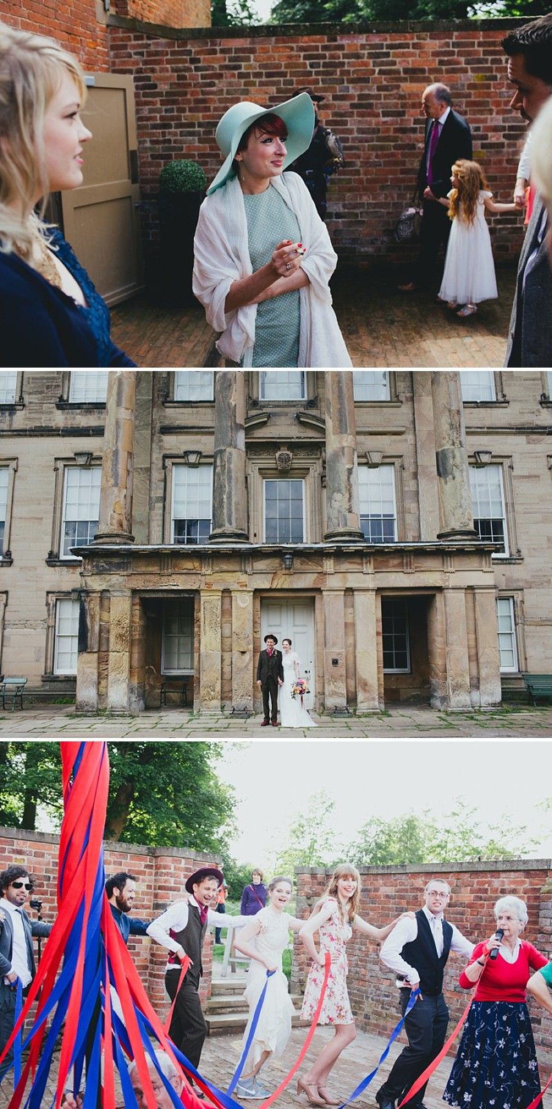 An alternative rock n roll wedding at Calke Abbey in Derbyshire with a bride in a Kula Tsurdiu gown and the most beautiful flowers by Honeysuckle and Castle_0211