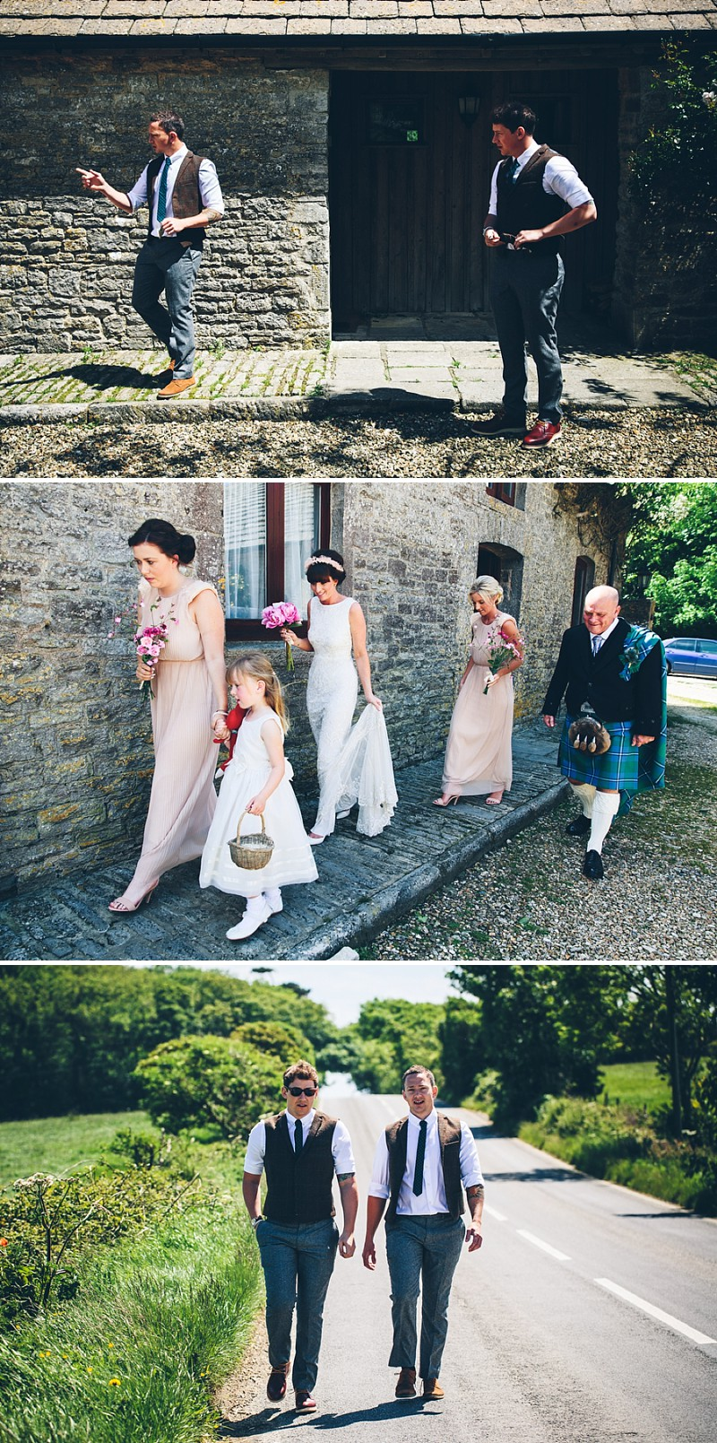 7aa94385f667 An English Country Garden wedding in Dorset With A Bride wearing ...