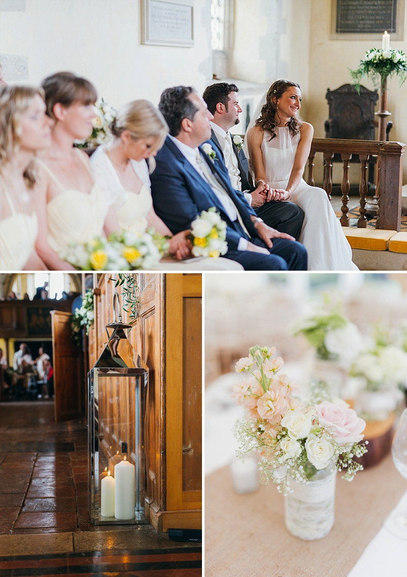 Classic Country House Wedding At Nether Wichenden House With Bride In Gown By Jesus Peiro And Bridesmaids In Yellow Dresses From Coast With Groom In Suit From Debenhams And Images By Babb Photo 3