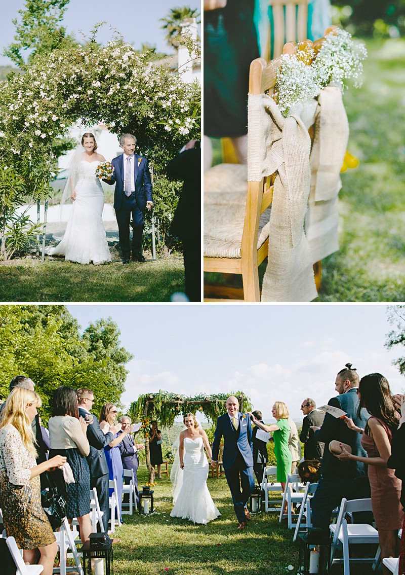 Destination Wedding In Gaucin In Spain With An Orange And Navy Colour Scheme And A La Sposa Wedding Dress With Photography By David Jenkins._0003