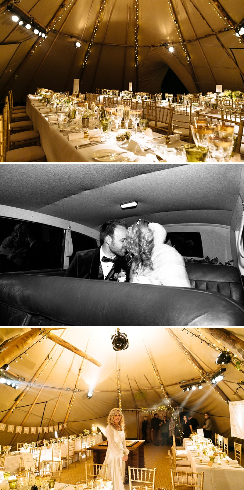 A A modern black tie winter wedding at Fetcham Park in Surrey with a bride in Emma Hunt and bridesmaids in Twobirds_0289