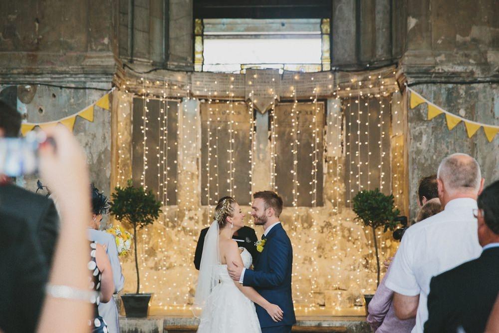 An Alternative Venue London City Wedding