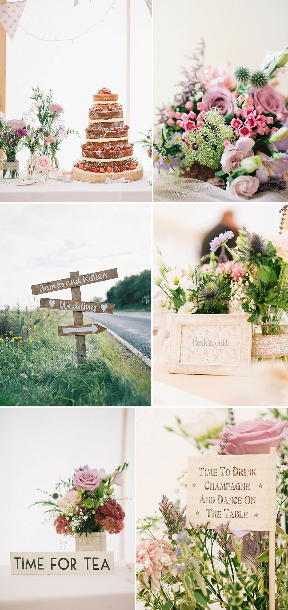 Afternoon Tea Wedding Decor Ideas