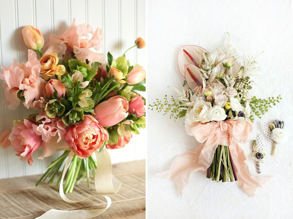 Five clever and effective ways to incorporate spring flowers into five ways to incorporate spring flowers into your wedding day mightylinksfo