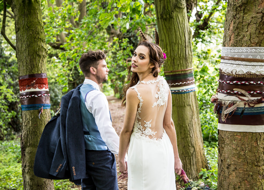 Rembo Wedding Dresses For A Bohemian Outdoor Wedding