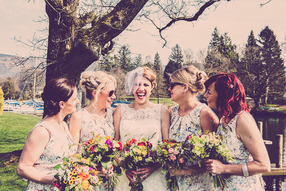 Lace Justin Alexander Wedding Dress For A Quirky Pub