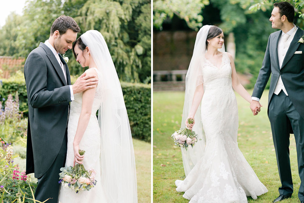 Lace Diango Pronovias Gown For A Classic Wedding In A
