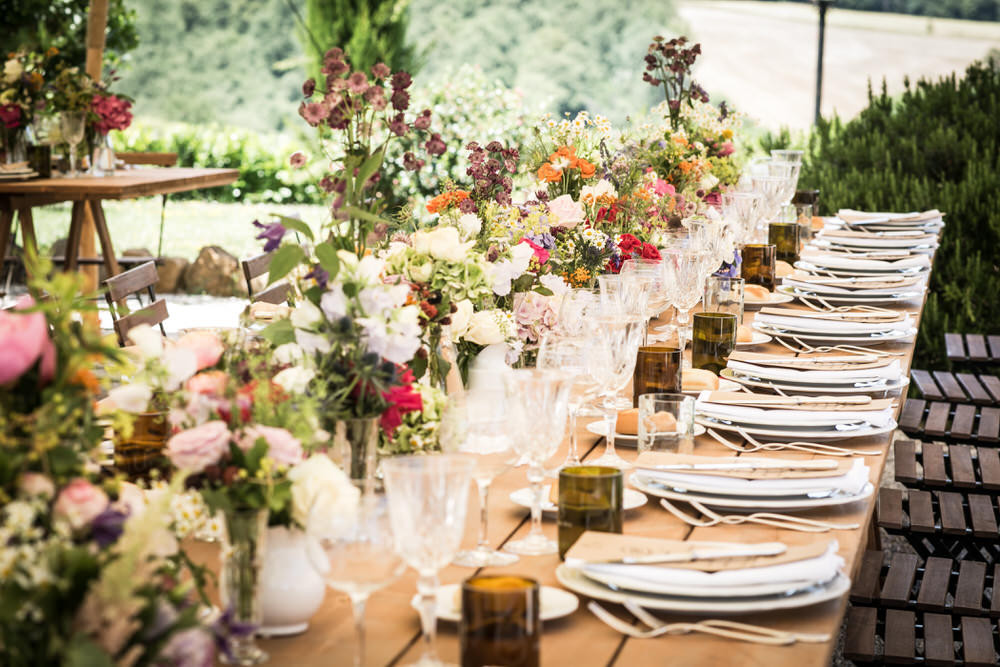 italian italy chechi adriana flowers event 1930s fiori olivia planning dining guido rockmywedding