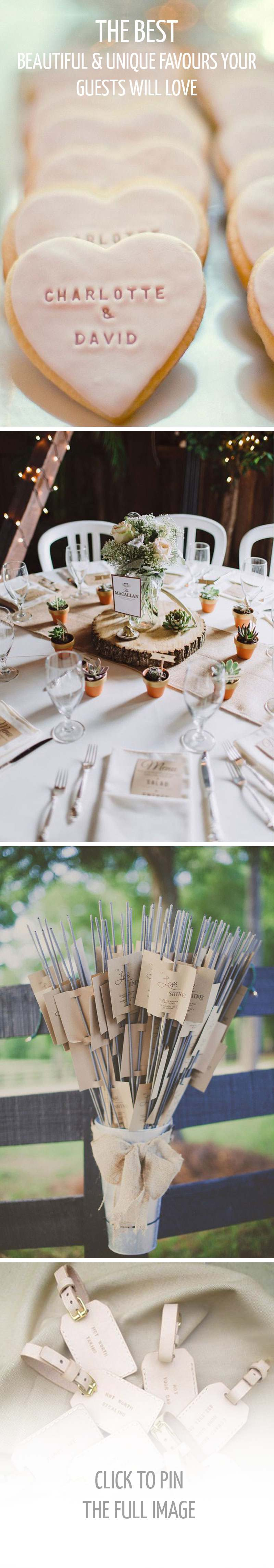 Ten Beautiful Wedding Favours Your Guests Will Actually Love by RMW