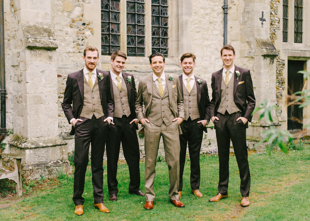 Chester Barrie And Jack Bunneys Wedding Suits