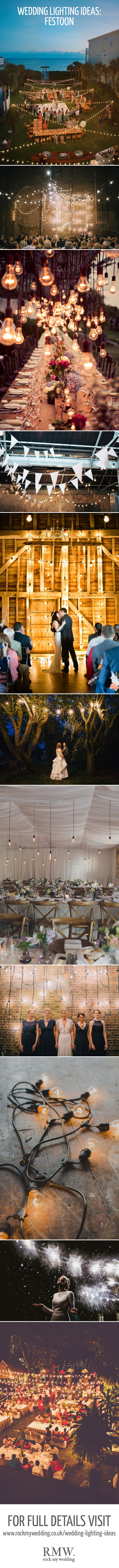 Festoon Lighting For Weddings