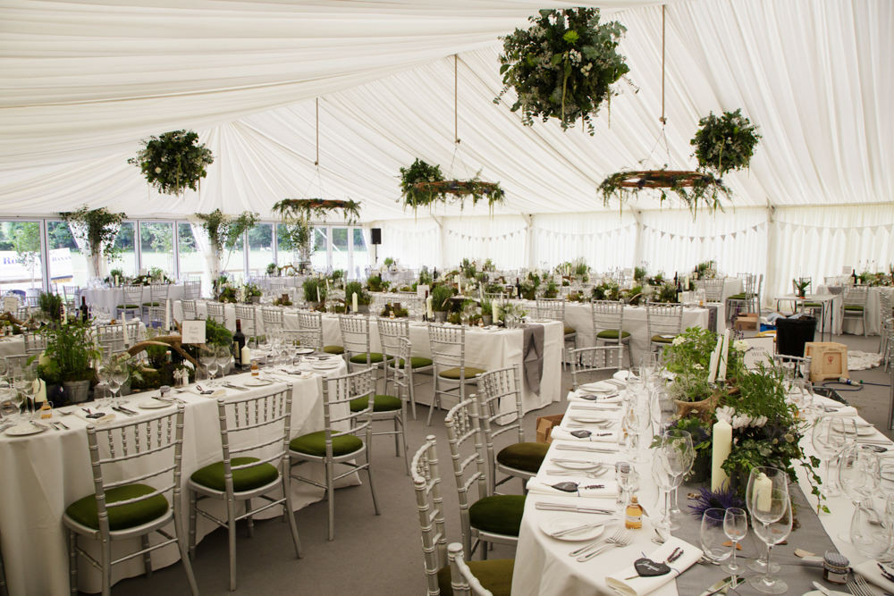 Rustic Marquee Wedding At Home In Scotland Thistles Amp Kilts