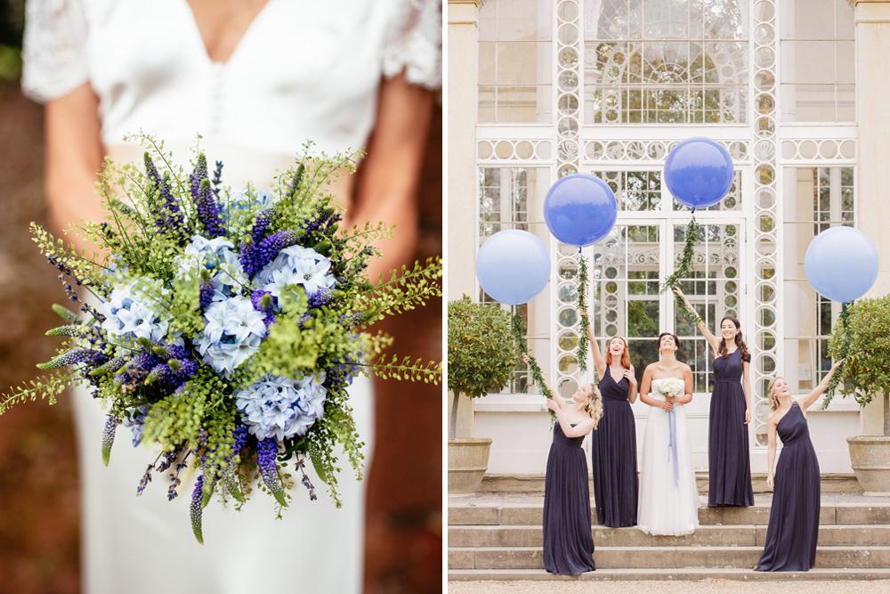 Blue Wedding Inspiration & Ideas in Association with De Beers Fine Jewellery | http://www.rockmywedding.co.uk/something-blue/