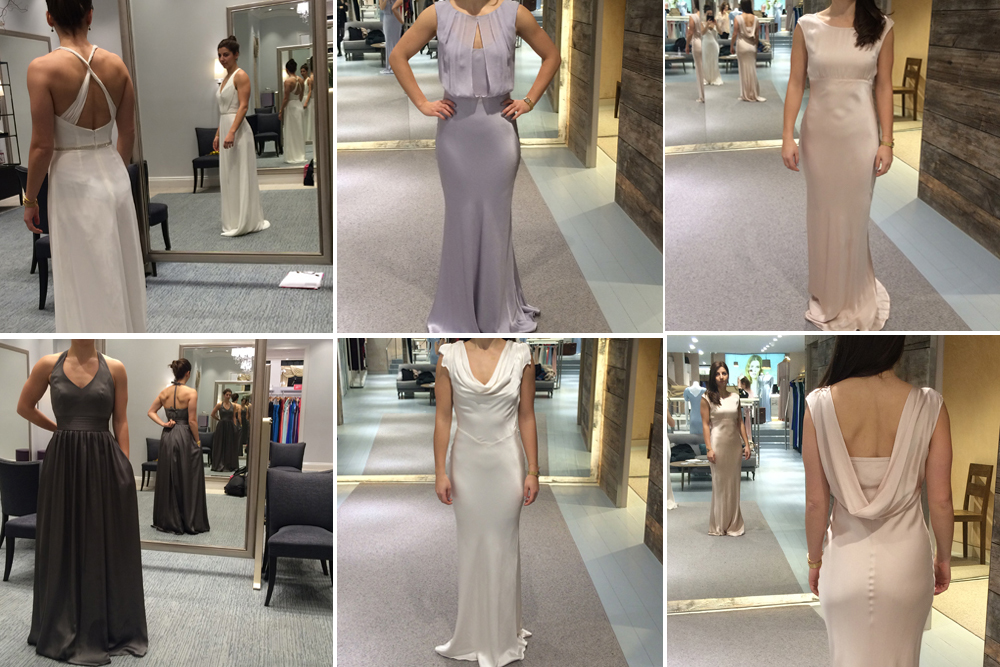 Bridesmaids Dress Options