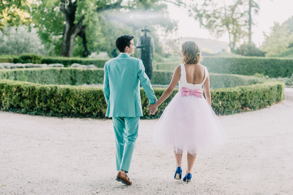 Destination Wedding at Chateau St Roseline in the South of France ...