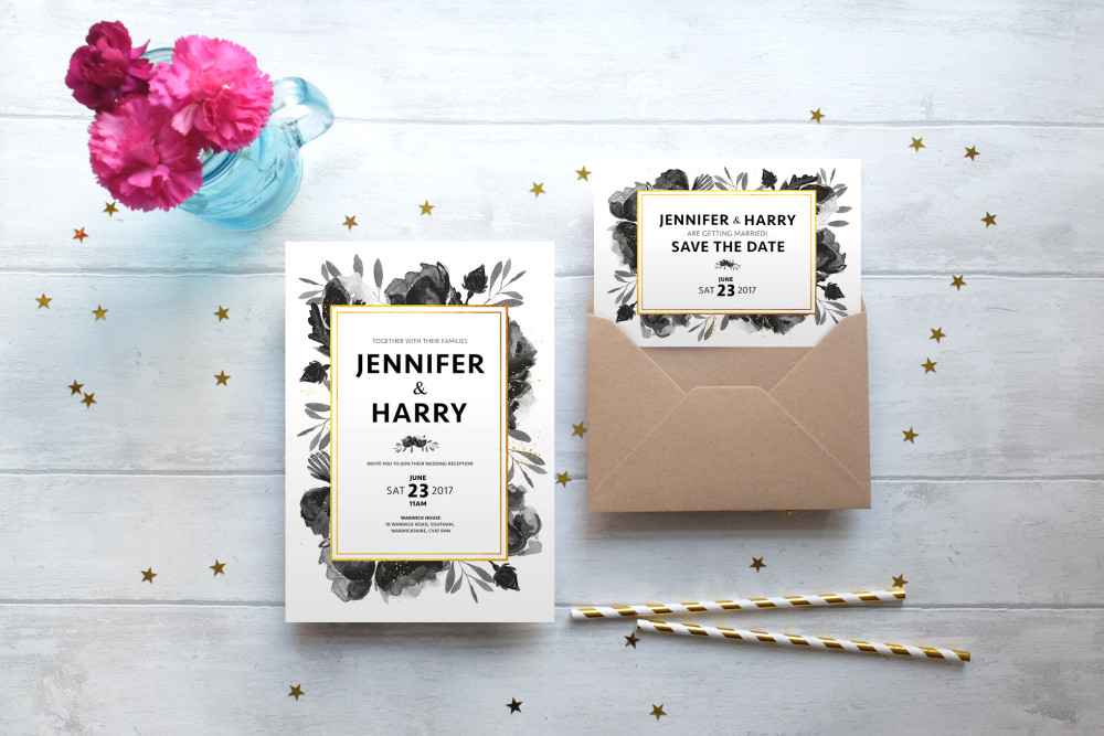 Blush and Gold | West Midlands & National Stationery | The Love Lust List | Rock My Wedding Hand Picked Wedding Supplier Directory | http://www.rockmywedding.co.uk/rmw-rates-blush-and-gold/
