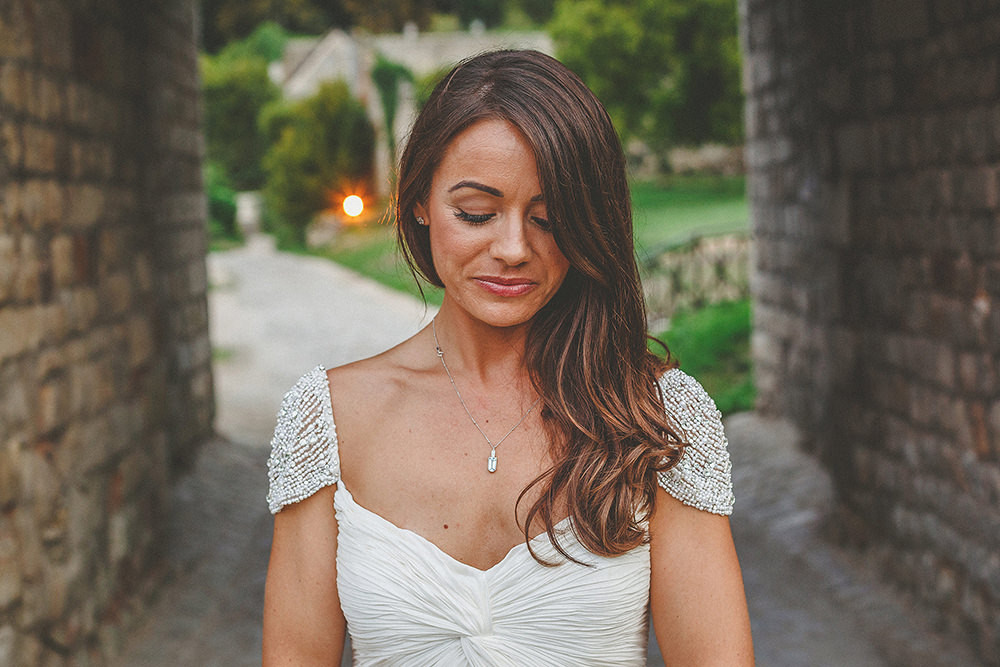 c2f5e940b4e Olivia Gown by Reem Acra Olivia Wilde French Chateau Wedding At Chateau de  Vallery Near Paris With Groom In Black Tux by Reiss And Images by Howell  Jones ...