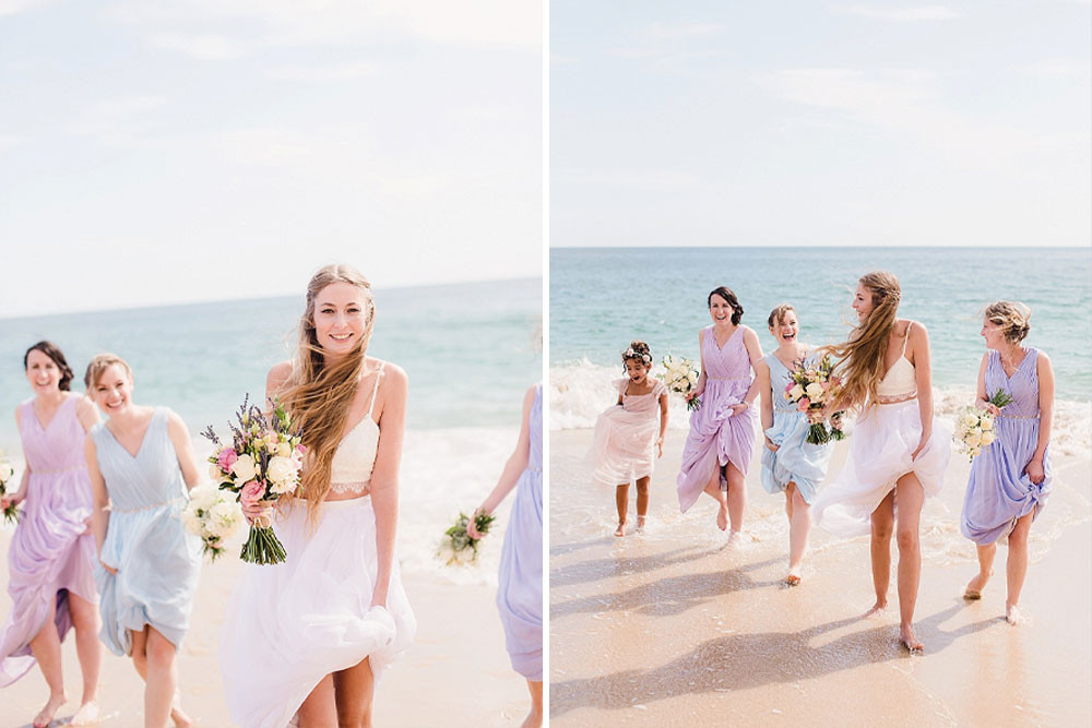 Boho Beach Wedding In Portugal