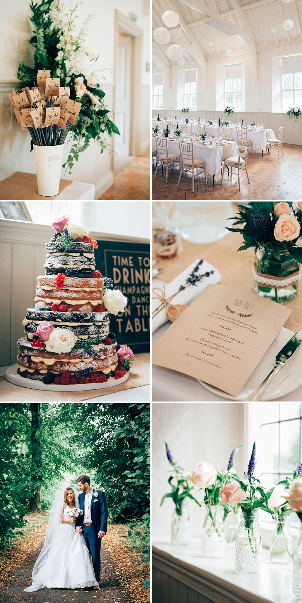 Stunning Village Hall Wedding