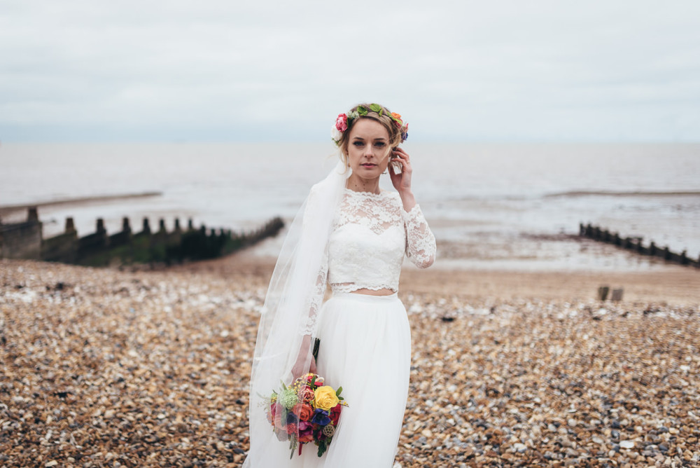 East Quay Wedding In Whitstable with Charlotte and Sam