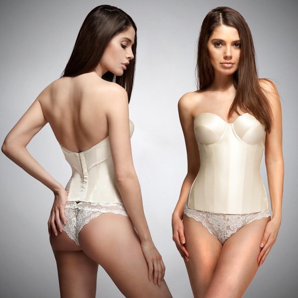 ENDERLEGARD.com AVA strapless corset (ivory)