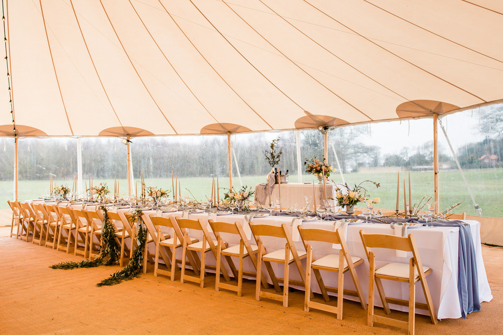 Your tent will protect the guests from the elements of weather such as extreme sun, rain, or wind that may otherwise interrupt the event.