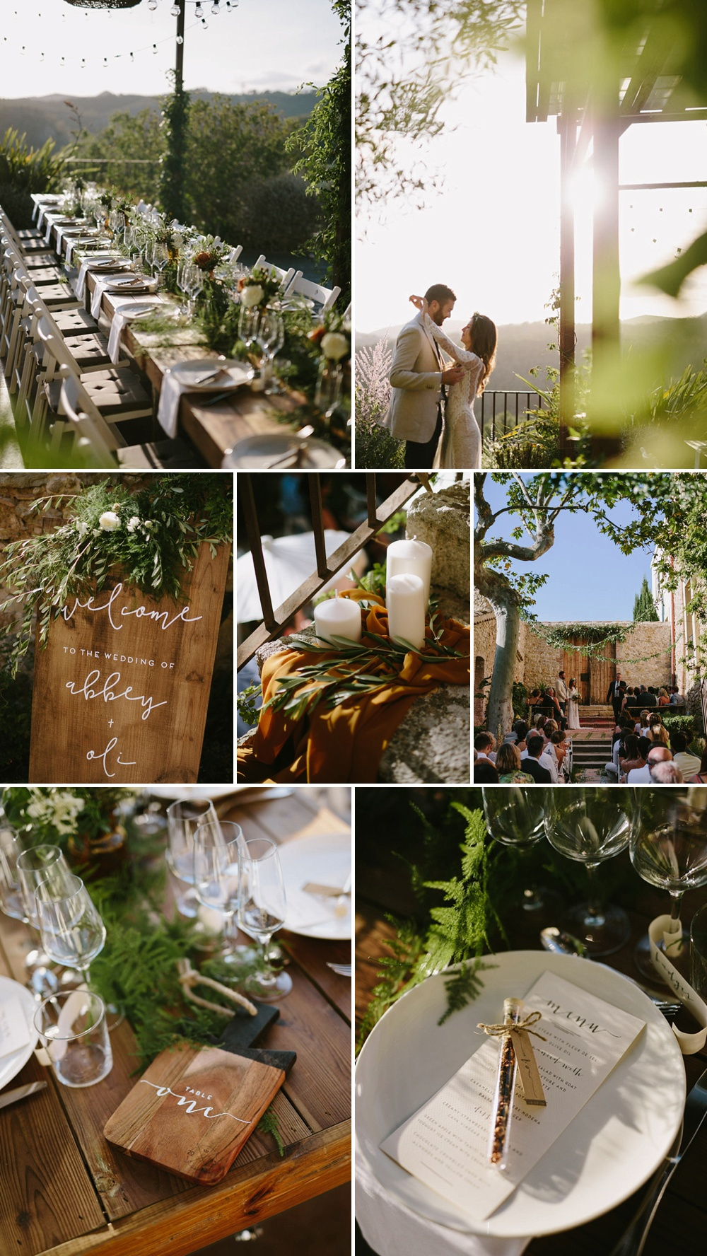 Stylish Destination Wedding