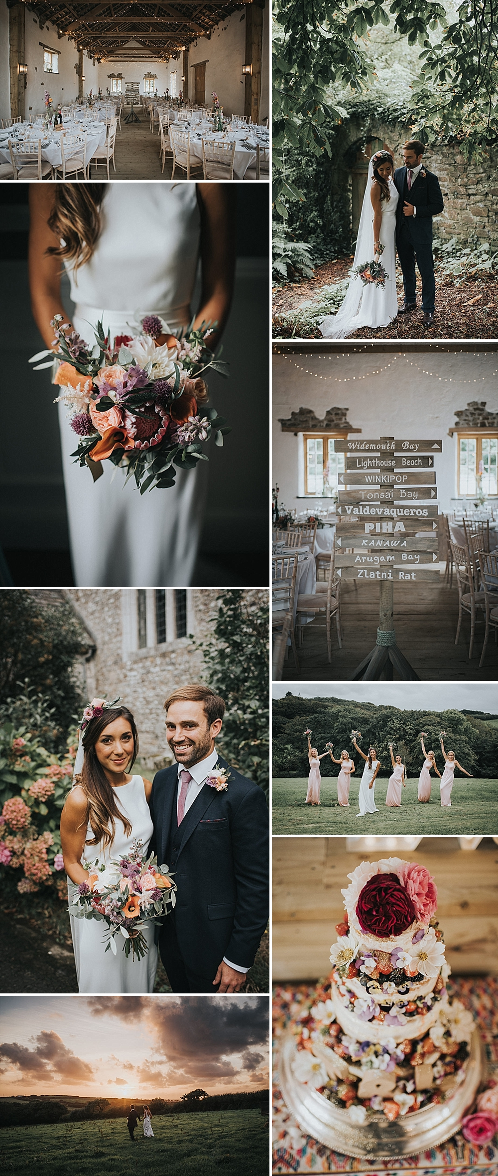 Country Wedding at Launcells Barton