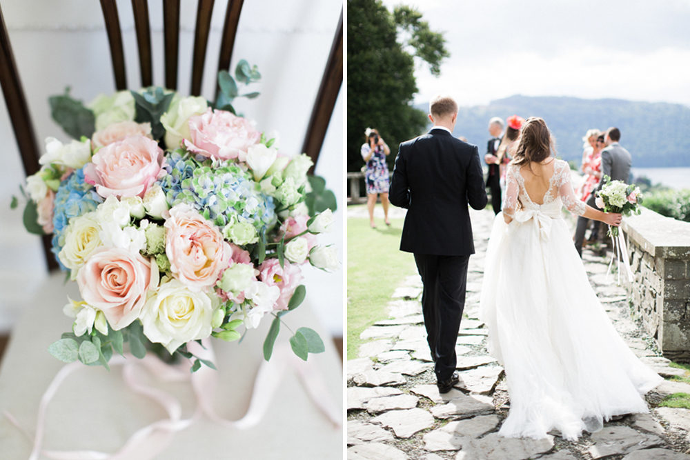 Pastel Bridal Bouquet | Melissa Beattie Photography | Intimate Pastel  Country Wedding | Gossel Ridding Wedding Venue Near Lake Windermere | Black  Tie | Pale ...
