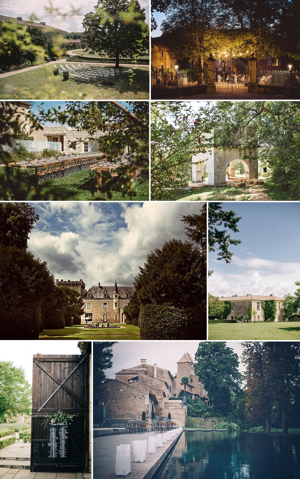 Beautiful French Wedding Venues // The Love Lust List