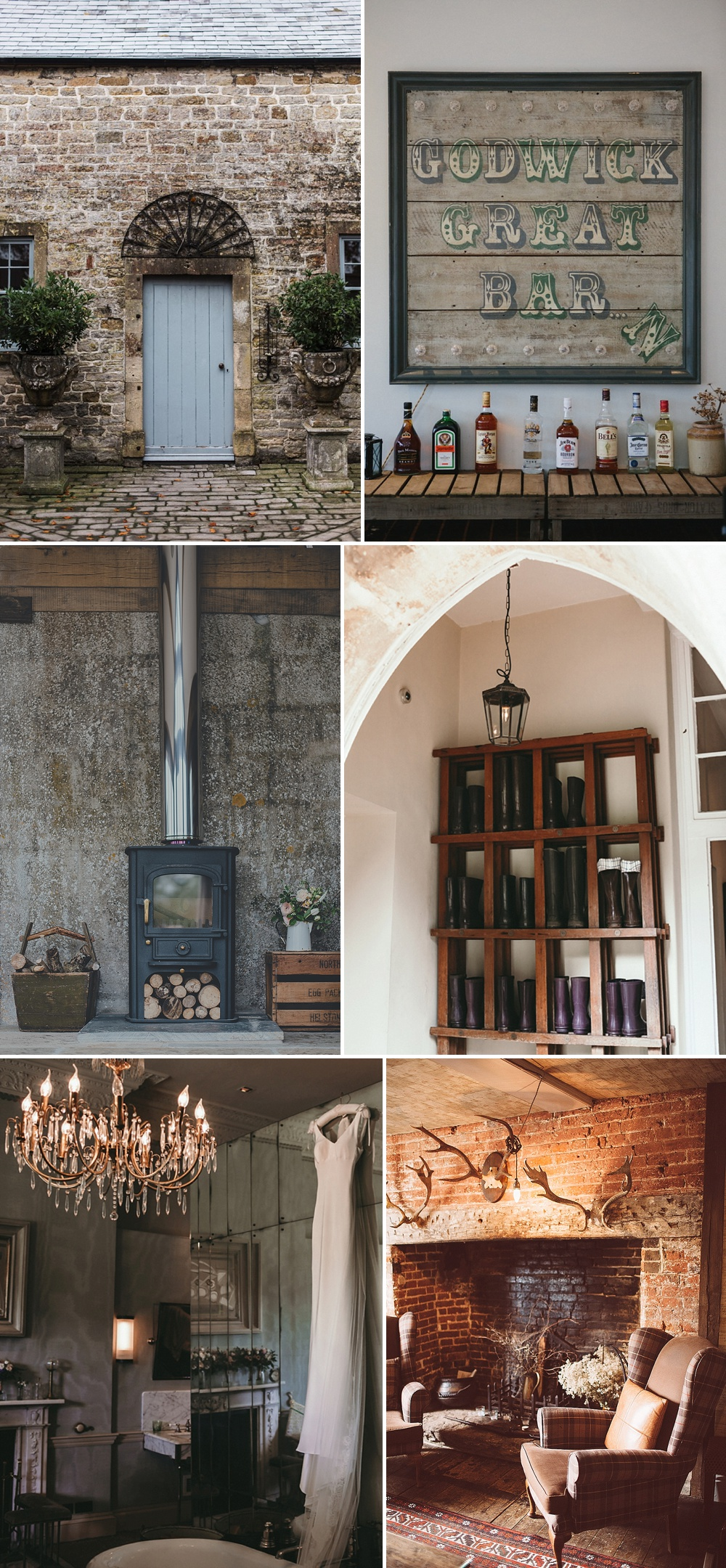 Country Retreat Wedding Venues // The Love Lust List
