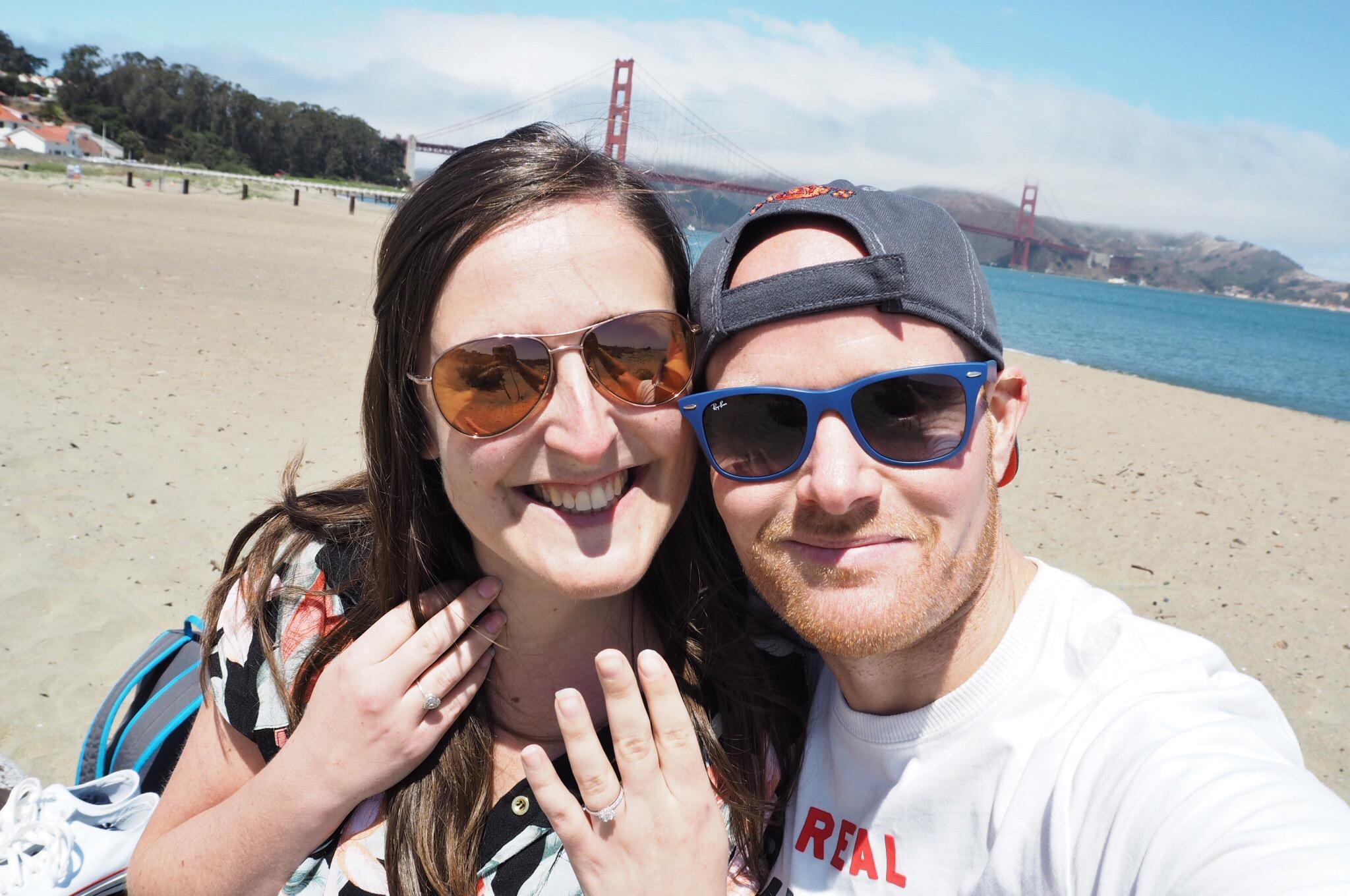 Emma & Dean Engagement Photograph