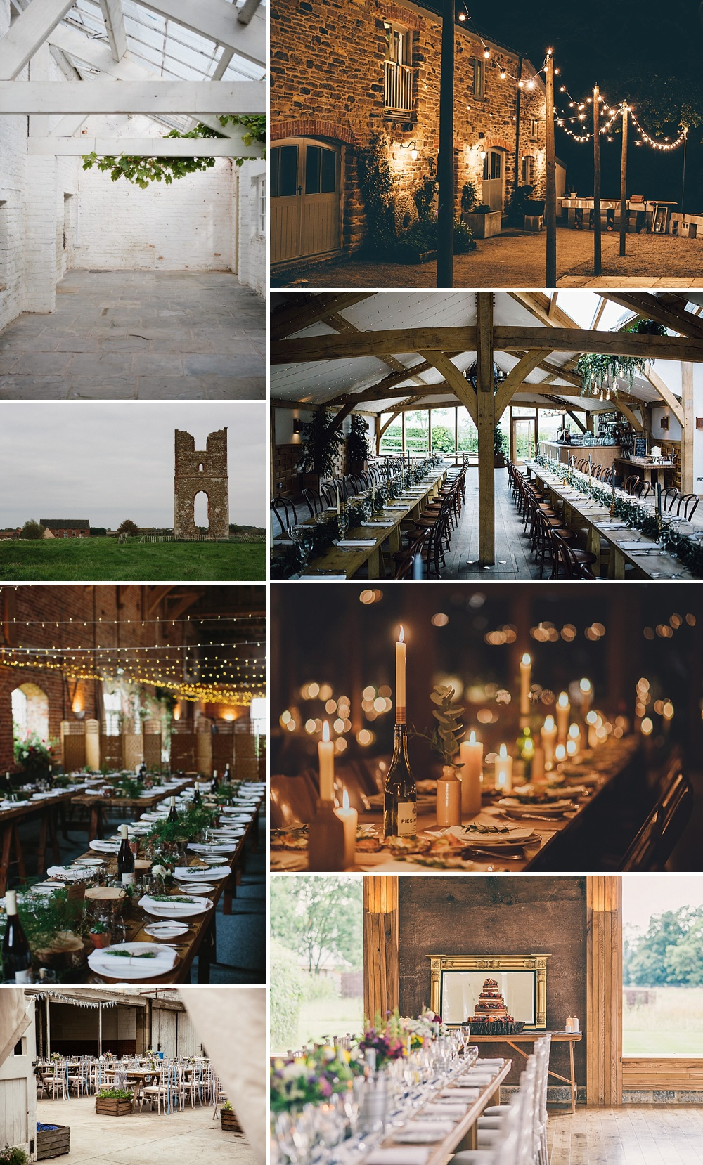 Rustic Wedding Venues // The Love Lust List
