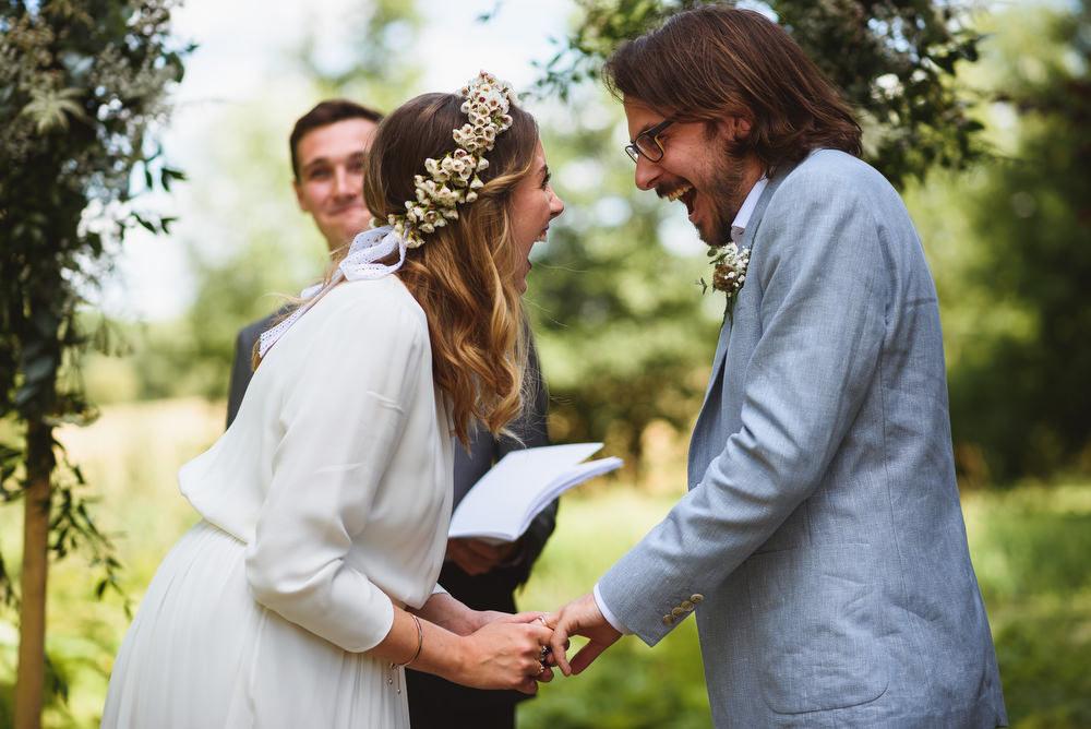Average Wedding Photographer Cost Uk: DIY Outdoor Humanist Wedding Ceremony At West Lexham