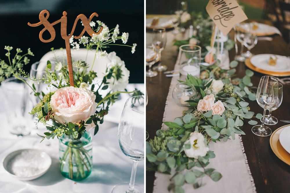 diy wedding decorations for tables
