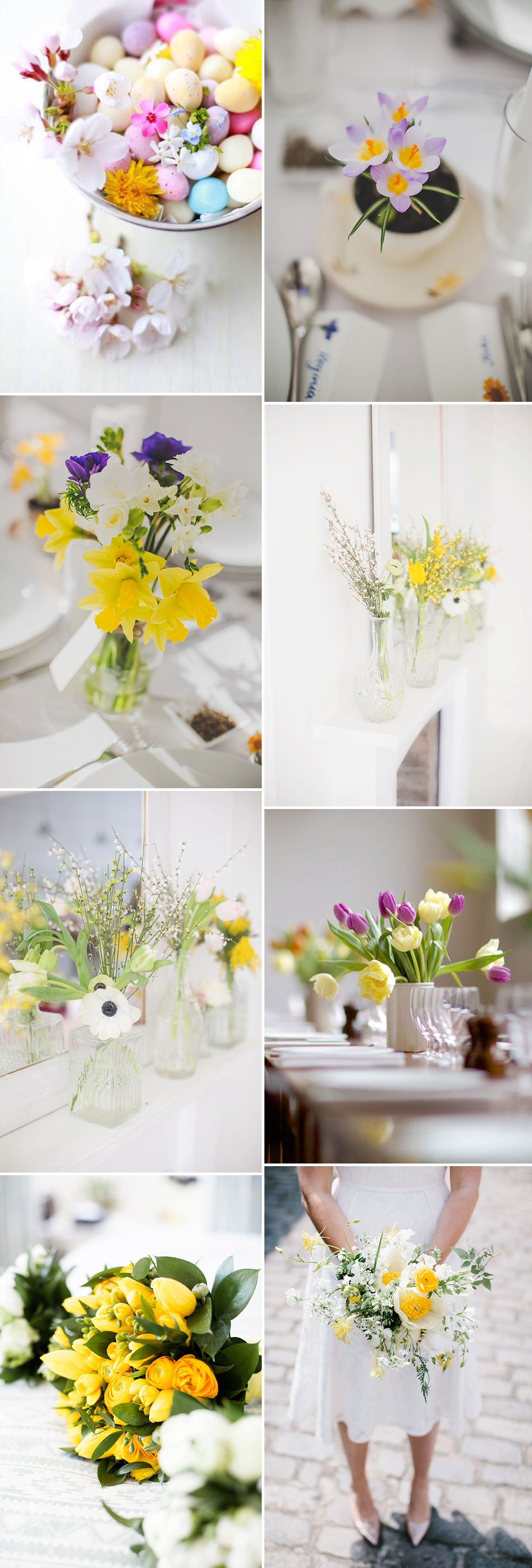 Spring Floral Inspiration For Weddings // The Love Lust List