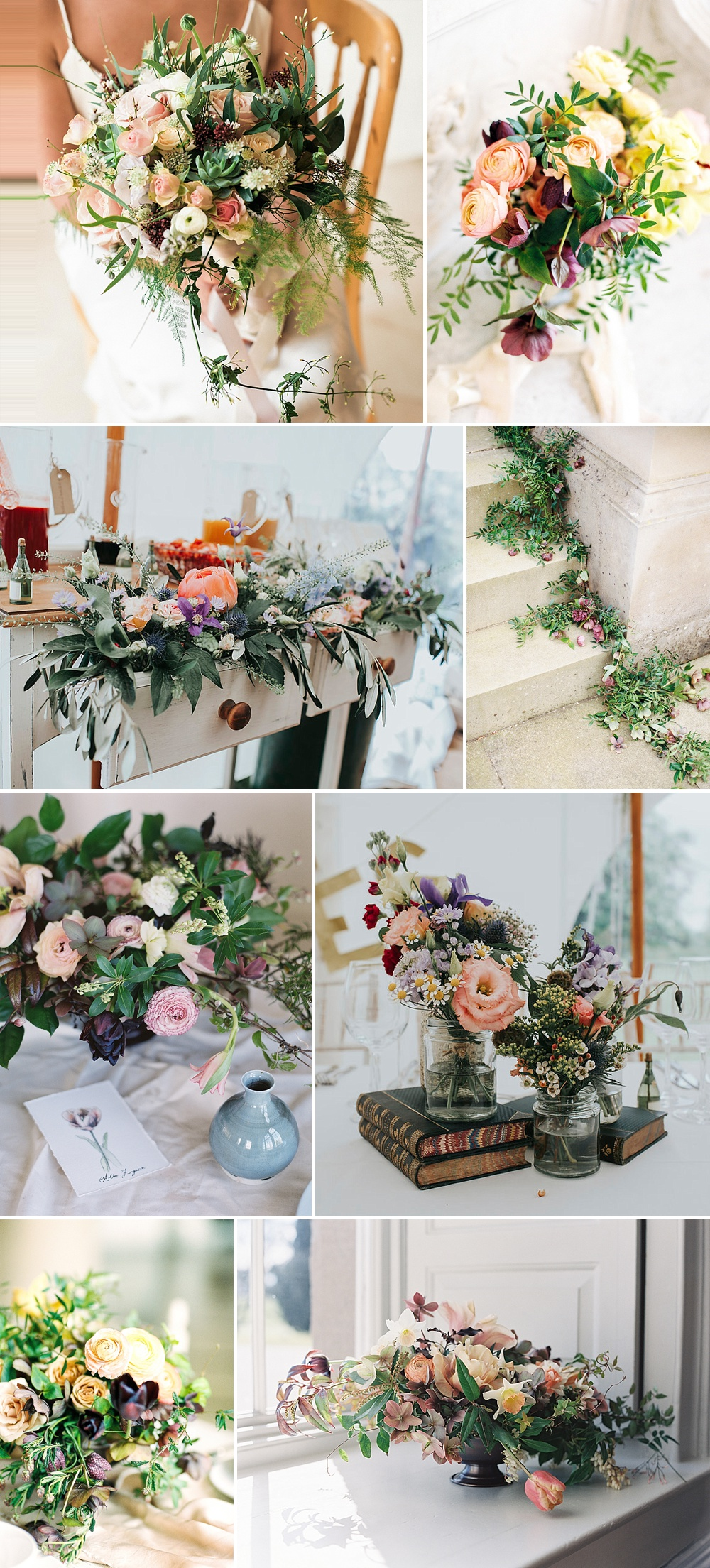 Spring Floral Inspiration For Weddings // The List