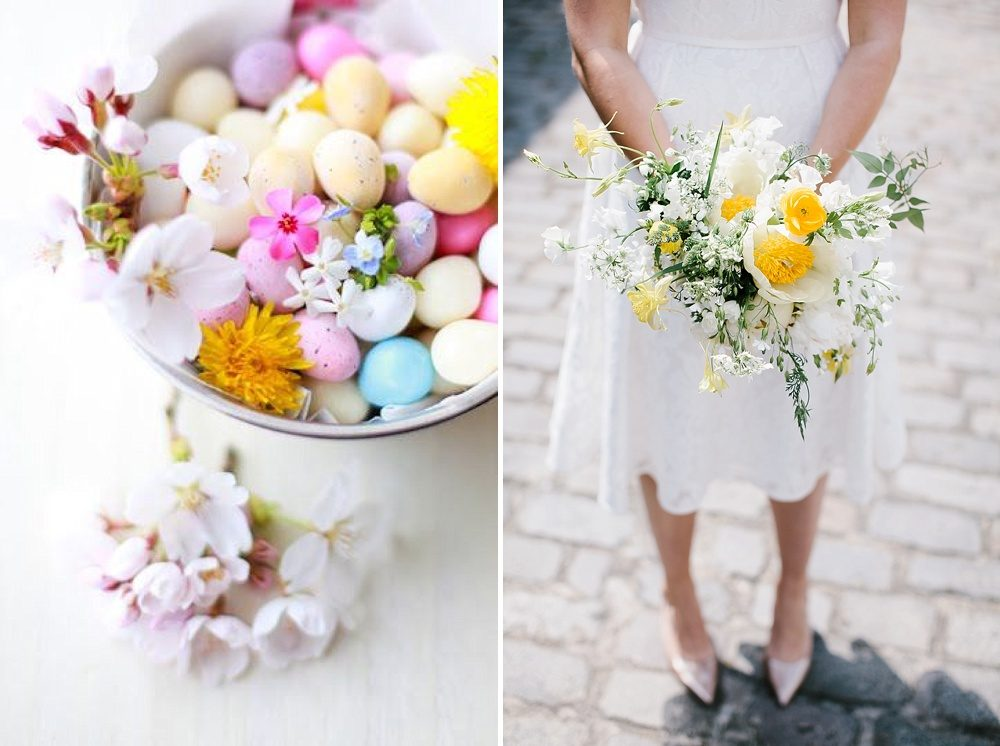 Spring flower wedding inspiration from the love lust list spring flower wedding inspiration from the love lust list handpicked supplier directory from team rock my wedding daffodils cherry blossom tulips wedding mightylinksfo Image collections