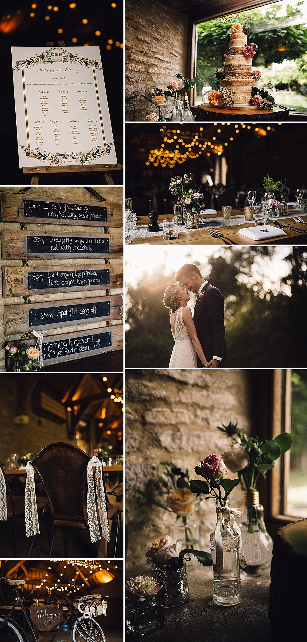Rustic Wedding at Thythe Barn in Oxfordshire by Samuel Docker Photography