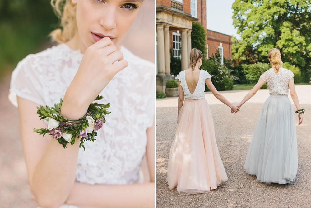 8af98c30fa0 Bridesmaid Navy   Separates Wedding Fashion Trends for 2017