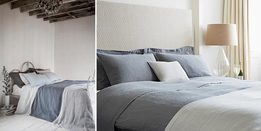 Natural Linen Bedding // The Wedding Shop