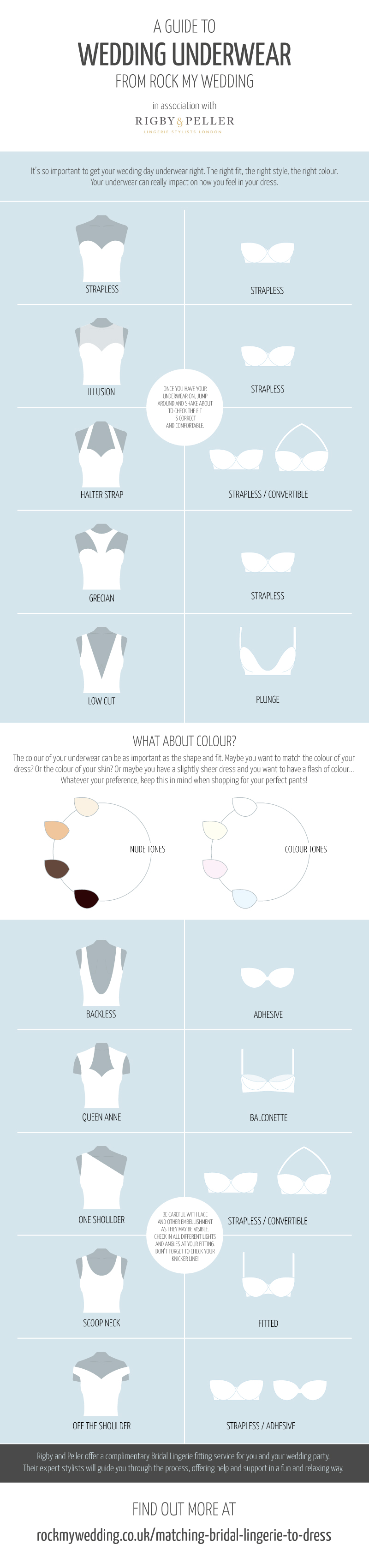 Guide To Bridal Underwear With Rigby & Peller