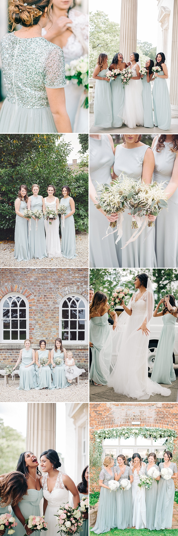 Mint Bridesmaid Inspiration