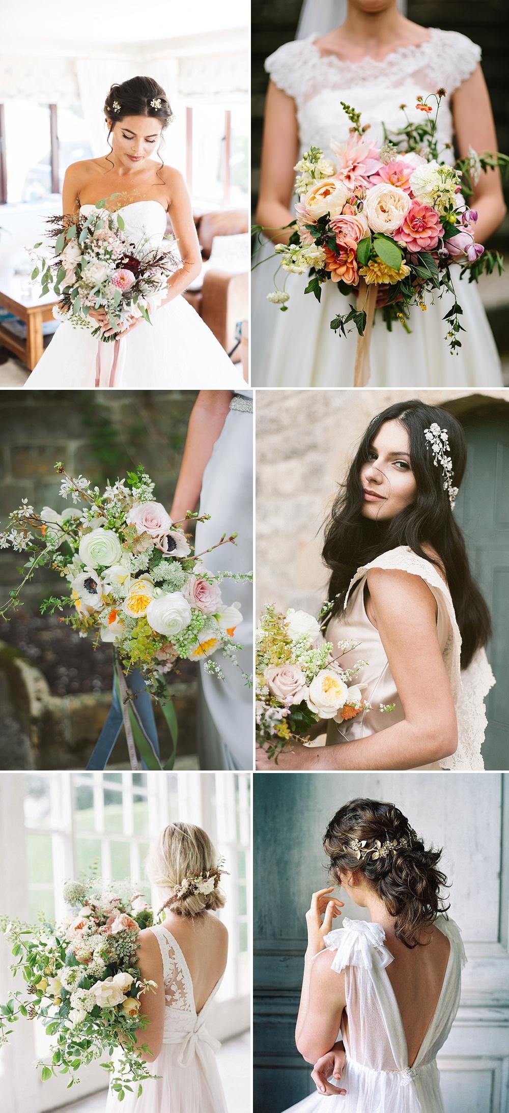 Summer Wedding Bouquet Inspiration