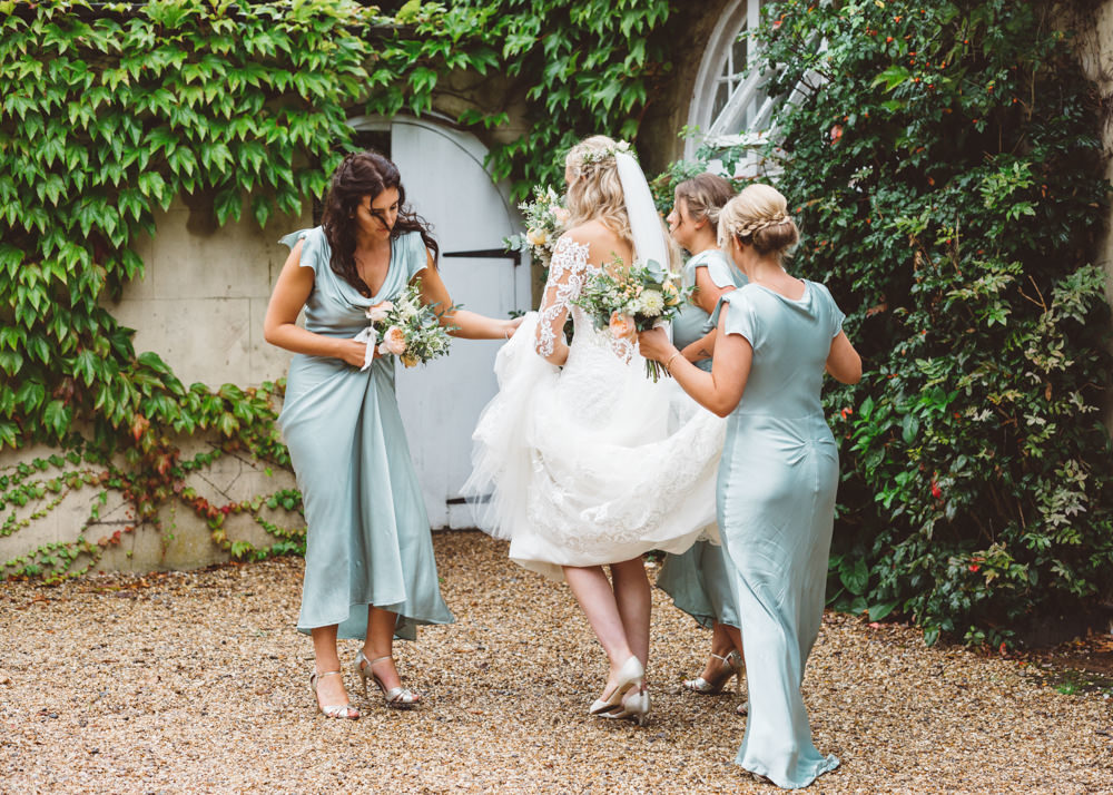 Classic Pastel Wedding At Northbrook Park Surrey With Ghost